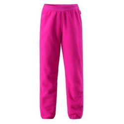 Spodnie Reima Polarowe Argelius różowe