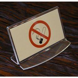 Zakaz palenia papierosów - acryl model Z001