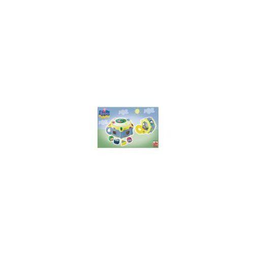 Świnka Peppa, Elektroniczny bębenek + Sorter kształtów, zestaw