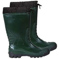Ocieplane buty gumowe z kołnierzem