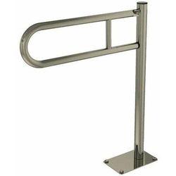 Poręcz przysedesowa stała dla niepełnosprawnych Faneco S32UUWCW6 SN P 60 cm