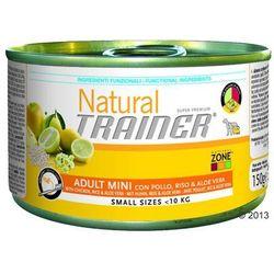 Trainer Natural Adult Mini, 6 x 150 g - Wołowina, ryż i żeń-szeń