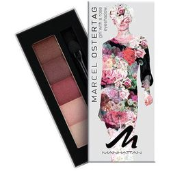 Manhattan Eyeshadow Palette By Marcel Ostertag 5g W Cień do powiek 4 Violet