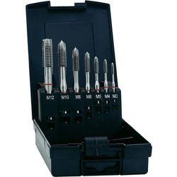 Zestaw gwintowników maszynowych przelotowych HSSE Exact M3-M12, nakrój B, DIN371, 7 szt