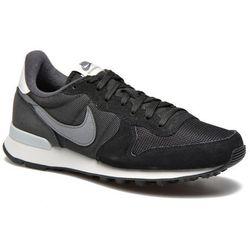 Tenisówki i trampki Nike Wmns Nike Internationalist Damskie Czarne 100 dni na zwrot lub wymianę