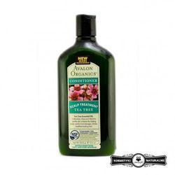 Odżywka do podrażnionej skóry głowy z olejkiem z drzewa herbacianego - Avalon Organics