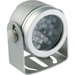 Reflektor podczerwieni, ABUS TV6700, wodoodporny, zakres 10- 18 m, 24 LEDy, IP67