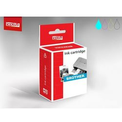 IC+ Tusz Brother LC-980 Cyan 7ml - EU refabrykowany - DCP-145C/ 165C/ 195C/ 365CN/ 375CW/ MFC-250C