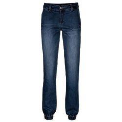 Spodnie pumpy bonprix ciemny denim