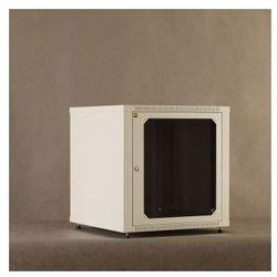 Netrack szafa wisz./stoj. 19'', 12U/600 mm - grafit, drzwi przeszklone