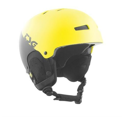 kask TSG - gravity youth graphic design divided acid yellow-black (285) rozmiar: S/M