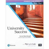 University Success Reading Intermediate, Student Book with MyLab English