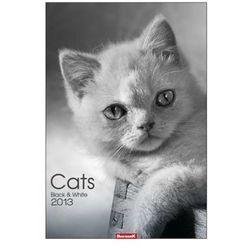 Kalendarz planszowy 2013 Cats black & white (BPZ)