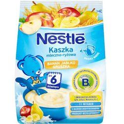 Kaszka mleczno-ryżowa banan jabłko gruszka Nestlé po 6 miesiącu 230 g