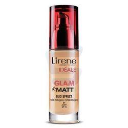 Lirene Ideale Glam Matt Fluid matująco-rozświetlający nr 01 jasny 30 ml