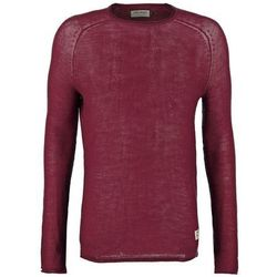 Jack & Jones JJORAPPLE REGULAR FIT Sweter burgundy