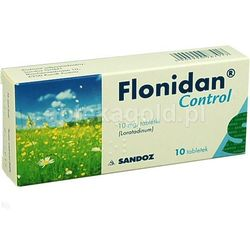 Flonidan Control 10 mg x 10 tabl.