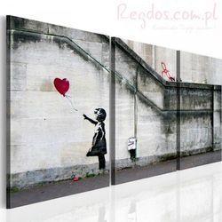 Obraz - Zawsze jest nadzieja (Banksy) - tryptyk