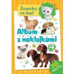ALBUM Z NAKLEJKAMI CZĘŚĆ 4 WĄSIK. ZAOPIEKUJ SIĘ MNĄ (opr. broszurowa)