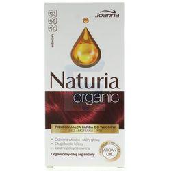 Joanna Naturia organic farba do włosów bez amoniaku Cherry nr 332