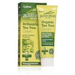 Antybakteryjny krem z olejkiem z liści drzewa herbacianego. Tea Tree Antiseptic Cream - Australian Tea Tree