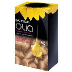 Garnier Olia farba do włosów 8.31 Złocisty Popielaty Blond