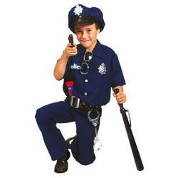 FUNNY FASHION Strój karnawałowy Policjant Dawid