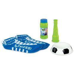 Bańki mydlane Messi FootBubbles Starter Pack niebieskie