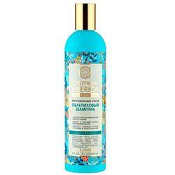 Natura Siberica Professional - szampon rokitnikowy do wszystkich typów włosów - zwiększenie objętości - krwawnik azjatycki, kalina, wyciąg z igieł modrzewia syberyjskiego, olej arganowy, olej z rokitnika ałtajskiego
