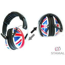 Słuchawki ochronne nauszniki dla dzieci ok 1-12lat - flaga brytyjska