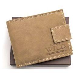 Portfel męski skórzany Always Wild N992L MHU LB