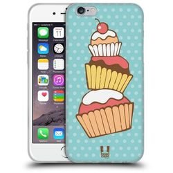Etui silikonowe na telefon - Cupcakes STACK
