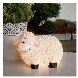 Urocza solarna lampa dekoracyjna LED Owca