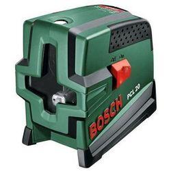Laser krzyżowy Bosch PCL 20 MIARA RICHTER GRATIS