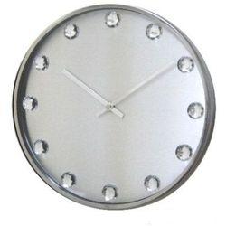 Zegar ścienny Diamond silver by ExitoDesign