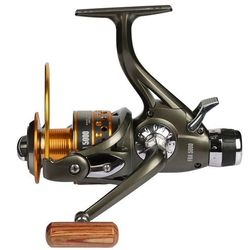 Dual Brake Feeder Fishing reel 10BB Carp Reel Baitrunner Tackle For Fishing Spinning Free Spare Coil FRA 3000 4000 5000 6000