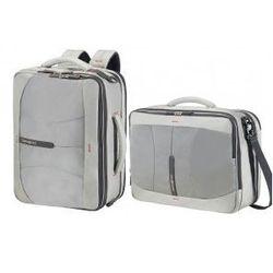 bf02dd6ea81bd SAMSONITE 3-way shoulder bag torba/ plecak 2w1 kolekcja 4MATION model  Slippers materiał polyester