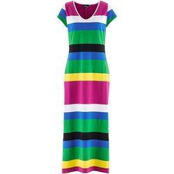 Sukienka bonprix w paski