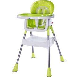 Krzesełko do karmienia CARETERO Pop zielony + DARMOWA DOSTAWA!