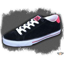buty mężczyźni ADIO - Dean V2 - BLACK-WHITE-RED