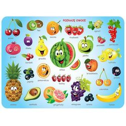 Podkładka na stół lub biurko Owoce