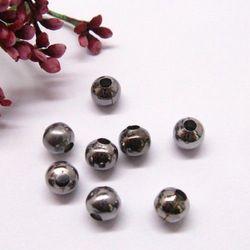 Metalowy element ozdobny kulka 6mm oksyda