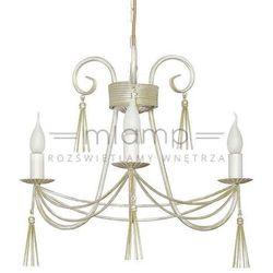Żyrandol LAMPA wisząca TWIST 4983 Nowodvorski świecznikowy ZWIS metalowy maria teresa biały