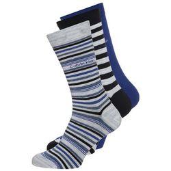 Calvin Klein Underwear 3 PACK Skarpety blue marble/true royal/navy mix