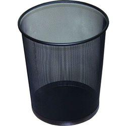 Kosz na śmieci metalowy Linia Office Set 19 litrów, czarny