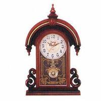 Zegar z wahadłem Hindus /brąz