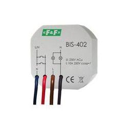 Przekaźnik bistabilny BIS-402 do puszki podtynkowej F&F