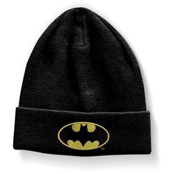 Czapka zimowa Batman - klasyczne logo Dc Comics