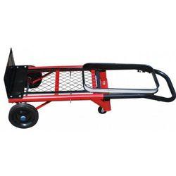 Wózek transportowy - platforma- kosz na śmieci