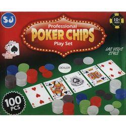 Poker zestaw 100 elementów